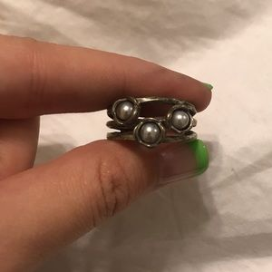 Jewelry - Pandora Pearl Ring